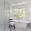 Modern White Bath