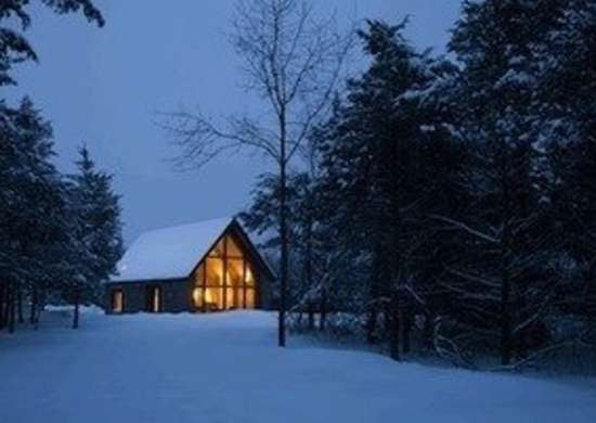 Hudson passive project elliot kaufman photographer exterior winter