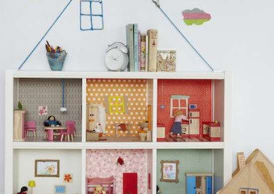 Book Case Doll House