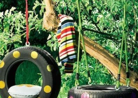 DIY TIre Swing