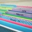 Washi File Labels