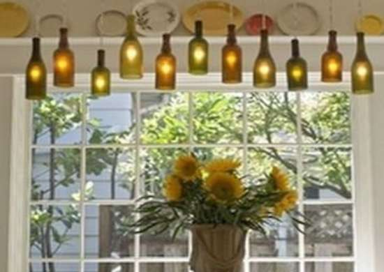 Glass Bottle Lights