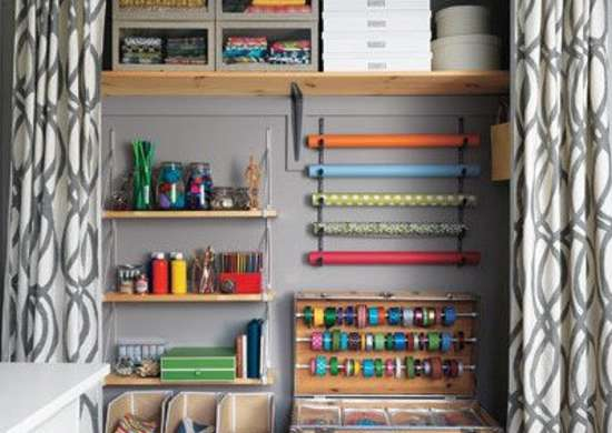 Craft Supply Closet
