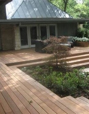Landscapingnetwork deck stars ipe wood deck david rolston landscape architects 470