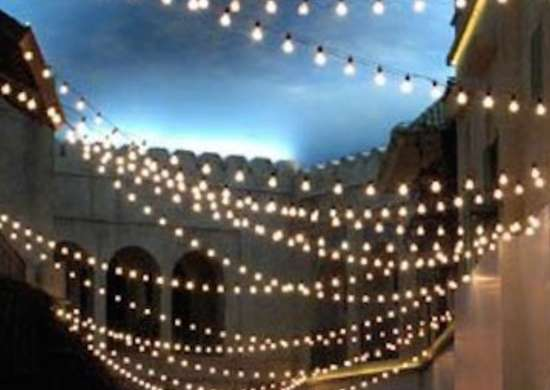 Outdoor String Lights - Backyard Lighting - 14 \