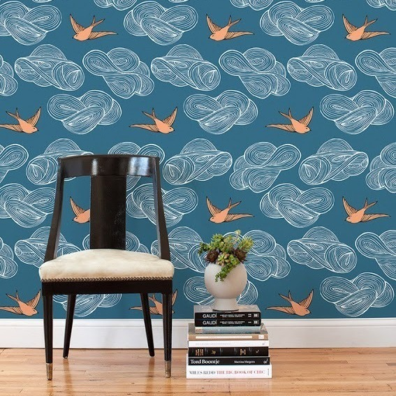 Wallpaper For Renters: DIY Apartment Projects