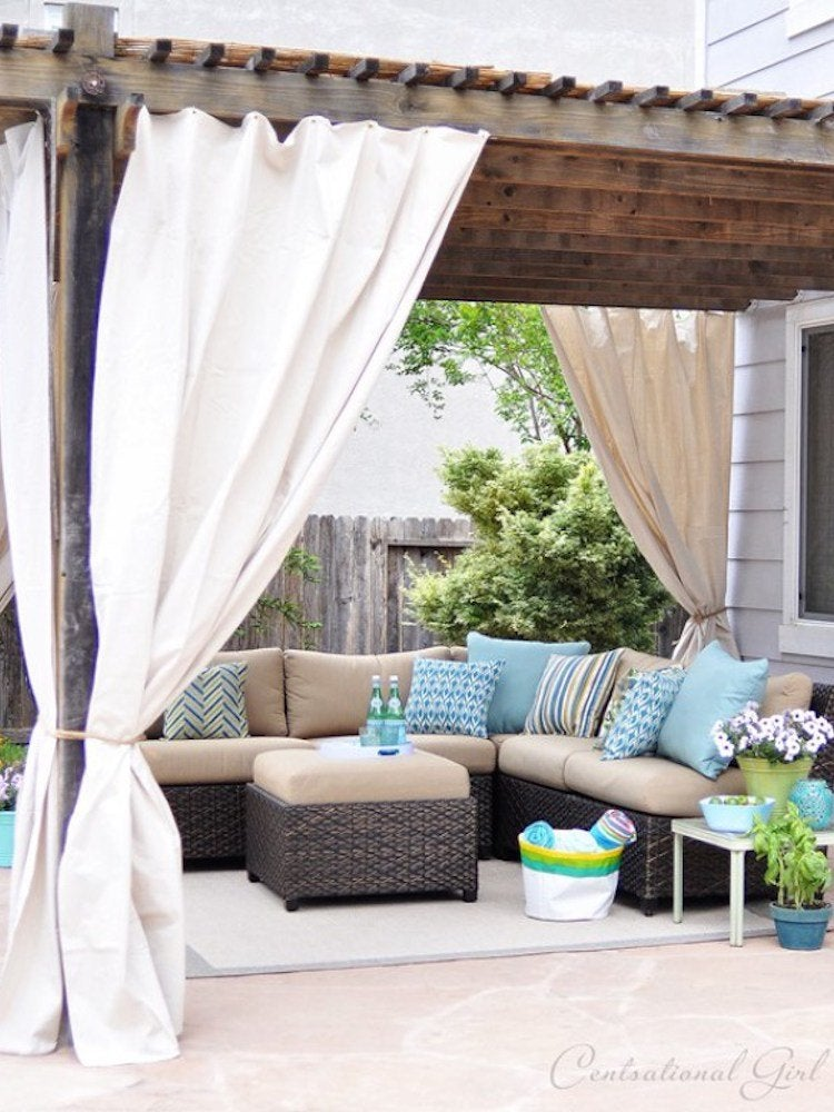 Patio Shades Ideas - 10 Clever Ways to Take Cover Outdoors ... - photo#14