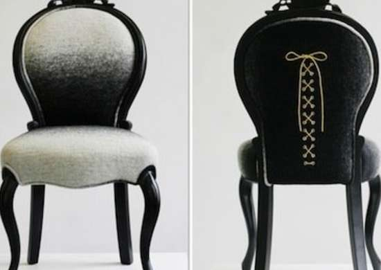 Updated Victorian Chair