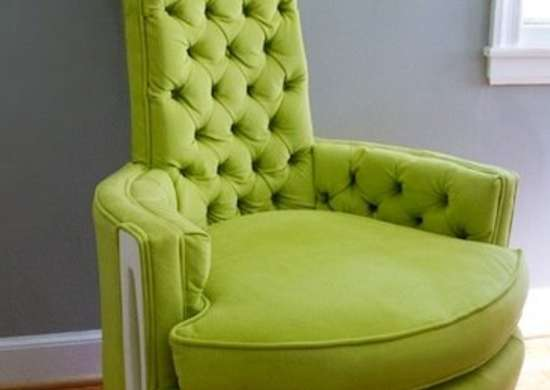 Reupholstered Regency Chair