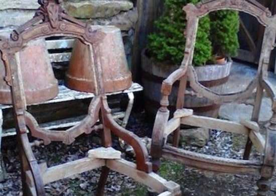 Carved Chair Frames