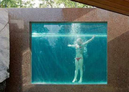 See-through Pool