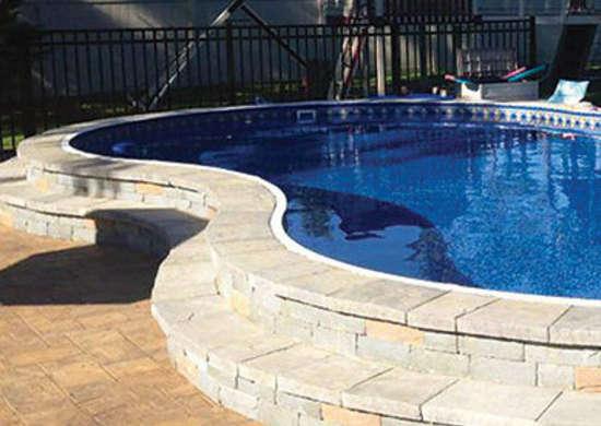 Freeform Shape Pool