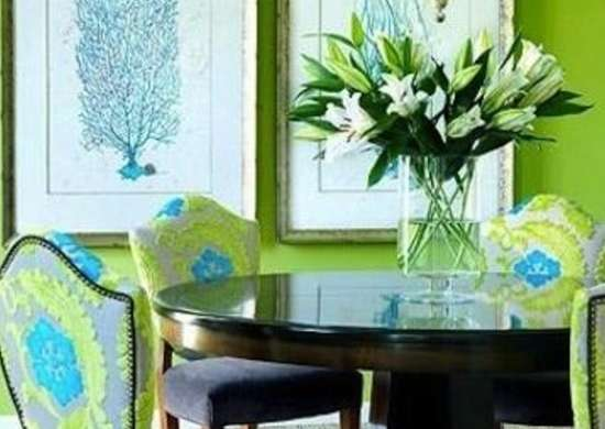 Green Dining Room