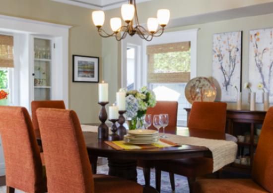 Beige Dining Room
