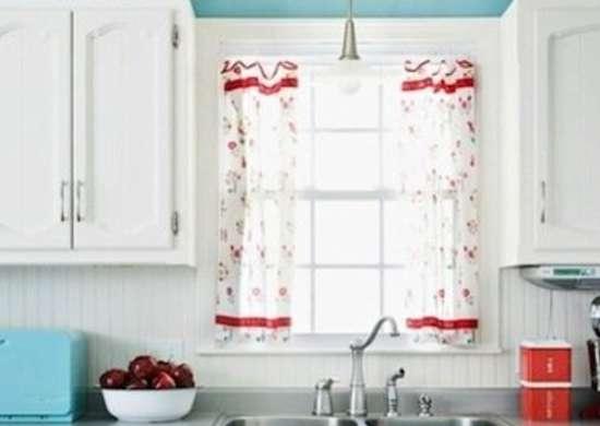 Delightful Retro Kitchen Curtains