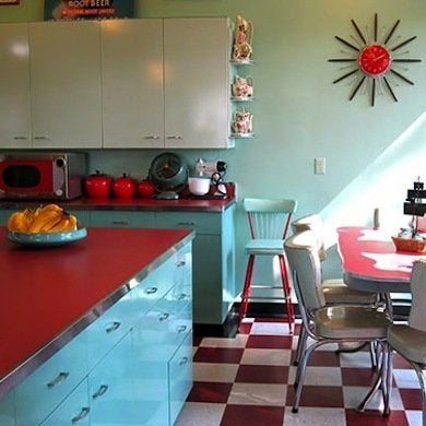 retro kitchen - 10 design essentials - bob vila