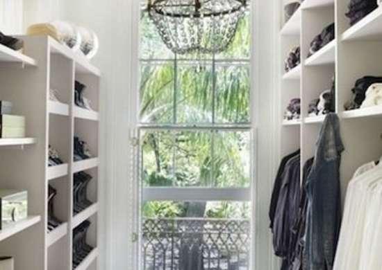Closet with Window