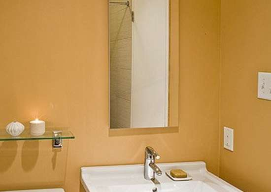 Ocher Bathroom